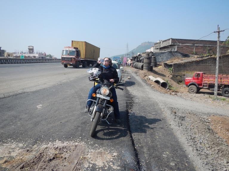 Jen Riding India