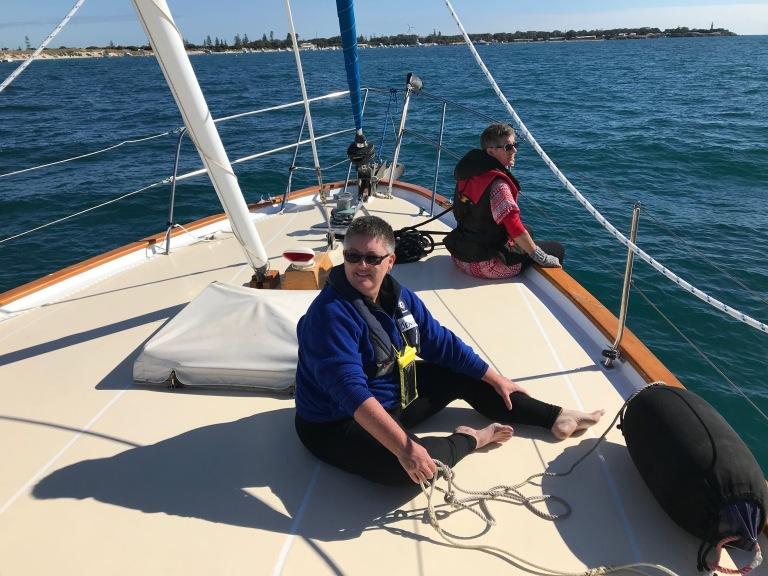 Jen Sailing